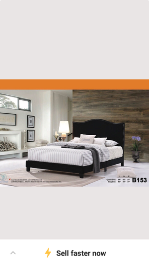 Bed frame with Queen Jumbo Orthopedic Pillow Top Mattress And for Sale in Chicago, IL