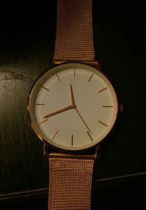 Rose gold women's chain watch for Sale in Washington, DC