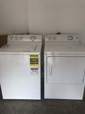 GE WASHER AND DRYER for Sale in Lake Worth, FL