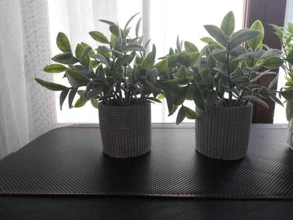 Mini faux plants