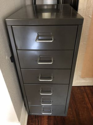 Mini file cabinet 27x16x11(metal) for Sale in Oceanside, CA
