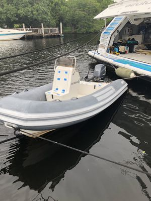 "13,6"" Pontoon boat for Sale in Dania Beach, FL"