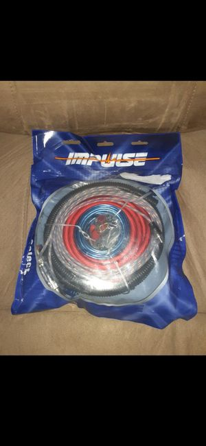 Brand new 4 gauge amp kit for Sale in Eastpointe, MI