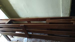 Wood foldable twin bed frame for Sale in Los Angeles, CA