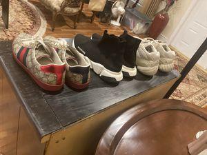 YEEZY Gucci and Balenciaga bundle for Sale in Hialeah, FL