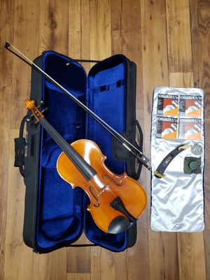 Samuel Eastman VL80 Violin - Size 4/4 (Bow, Case, Replacement Strings, Chin strap, and Rosin Included) for Sale in Tucson, AZ