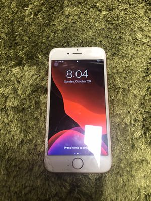 iPhone 6s 36 gn Works perfect but just the cracked screen for Sale in Colma, CA