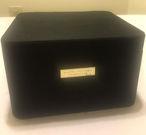 Marc Jacobs black sateen storage box for Sale in Gainesville, VA