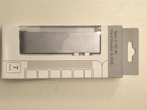 Hyperdrive 7 port USB adapter for MacBook for Sale in Marietta, GA