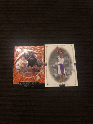 Chris Webber Juwan Howard Fab Five Michigan Wizards Kings Cards for Sale in Grand Rapids, MI