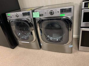 Brand New LG 29In Stainless Steel Front Load Washer And Dryer Set for Sale in Moyock, NC