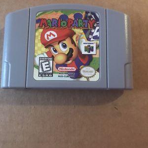 Mario Party Nintendo 64 for Sale in Miami Gardens, FL