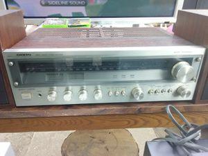 Vintage Onkyo receiver for Sale in Washington, DC