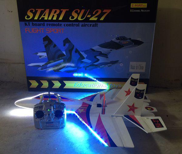 High speed RC aircraft