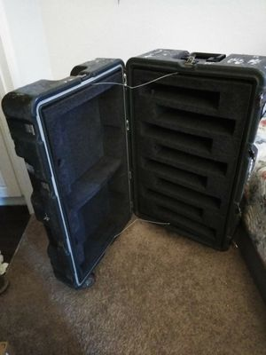 Heavy duty trunk. To secure computers transport or take inserts out for other items for Sale in Tampa, FL