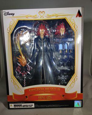 Bring Arts Axel from Kingdom Hearts 3 for Sale in San Bernardino, CA