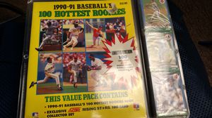 1990 - 91 baseball's 100 hottest rookies card collection for Sale in Columbus, OH