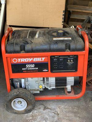 Troy-Bilt Generator! Like brand new! for Sale in Oakland Park, FL