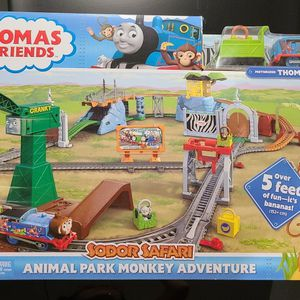 Thomas & Friends - Animal Park Monkey Adventure Train Set for Sale in Phoenix, AZ