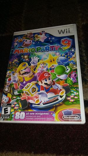 MARIO PARTY 9 - (USED) Nintendo Wii & Wii U video game for Sale in Stockton, CA