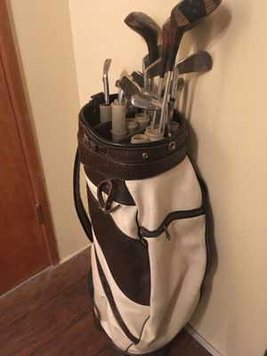 Golf clubs with bag for Sale in Seattle, WA