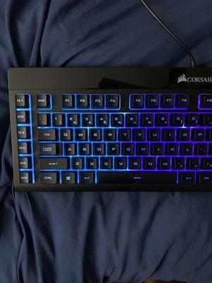 Corsair K55 Full Membrane Keyboard for Sale in Odessa, TX