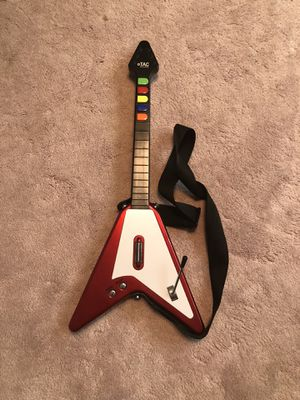 Tac Antcommandos Red Flying-V Guitar Hero Guitar for Sale in Colonial Heights, VA