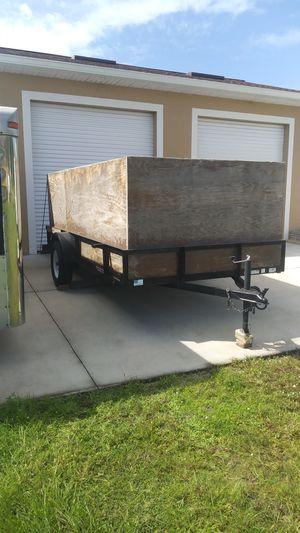 2014 TRIPLE CROWN TRAILER 6 x 12 ft for Sale in Lehigh Acres, FL