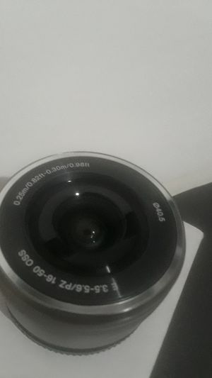 Sony E-Mount 16-50mm Silver Nex Lens Brand New for Sale in Baltimore, MD