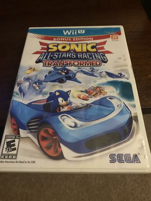 Sonic all stars racing transformed for Sale in Fallbrook, CA