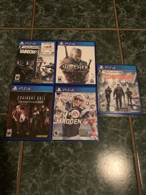 PS4 Games for Sale in Tallmadge, OH