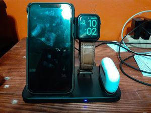 iPhone 11 series 5 Apple Watch air pod pros bundle price is negotiable. for Sale in MAGNOLIA SQUARE, FL