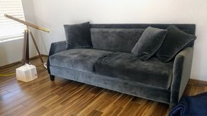 Velvet Couch in GREAT condition for Sale in Tempe, AZ