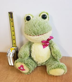 Soft stuffed frog for Sale in Gresham, OR