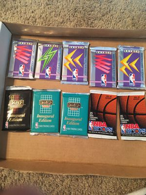 (10) Basketball cards packs lot for Sale in North Olmsted, OH