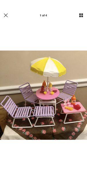 Vintage 1989 Barbie Backyard Playset ~ Arco - Mattel # 7750 Complete Set! for Sale in Mineral Wells, WV