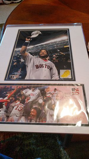 Manny Ramirez matted photo for Sale in Bangor, ME