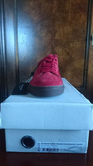 Selected Homme Men's David Low Sneaker EU42/US9 Barbados Cherry RP $220 PORTUGAL for Sale in Cleveland, OH