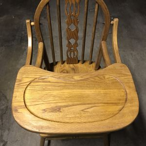 Wooden Baby High Chair for Sale in Los Angeles, CA