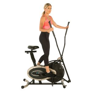 Exerpeutic GOLD XL9 Aero Elliptical and Exercise Bike Dual Trainer for Sale in Houston, TX