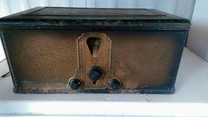 Beautiful Antique metal Stewart Warner radio 1924-1935 for Sale in Seattle, WA