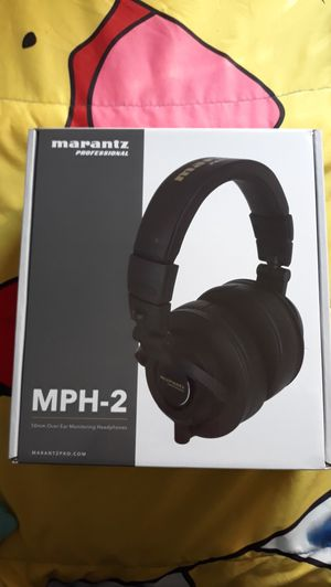 MARANTZ professional MPH-2 headphones New for Sale in Riverside, CA