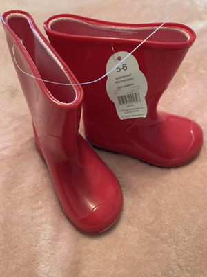Wonder nation toddler girls rain boot for Sale in Gastonia, NC