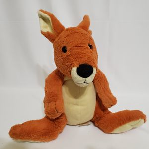 "Kohl's Cares Kangaroo Plush Eric Carle 2012 Stuffed Animal Soft Toy Orange 12"" for Sale in Riverside, IL"