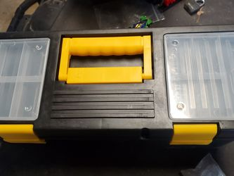 New Plastic Tool Box With Tray for Sale in Virginia Beach,  VA