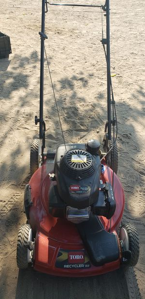 """Toro 22"""" lawn mower powered by honda . for Sale in DEVORE HGHTS, CA"""
