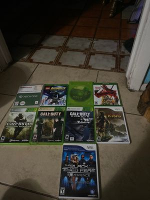 xbox one,xbox 360 and wii games for Sale in Phoenix, AZ