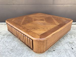 Vintage Retro Wood Coffee Table w/ Drawer - Modern for Sale in Orlando, FL