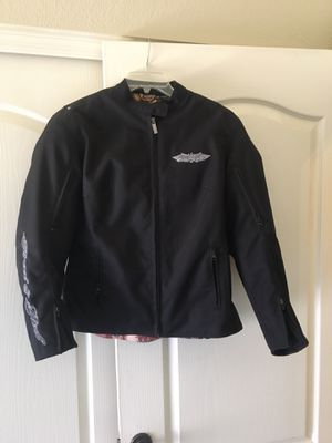 Lady's Street n Steel motorcycle jacket w/body armor, removable cold weather lining and warm weather vents for Sale in Phoenix, AZ