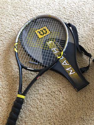 Mach 3 Power Slot Tennis Racket for Sale in Irvine, CA